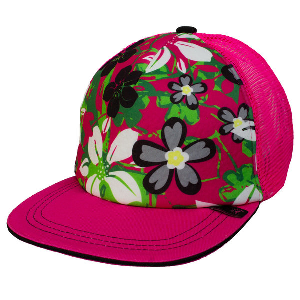 View larger image of Mesh Back Cap-Fuchsia Combo