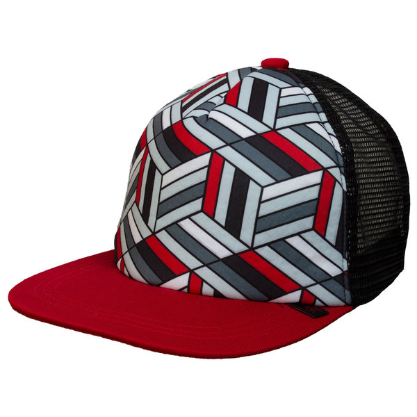 View larger image of Mesh Back Cap-Red/Black-XL