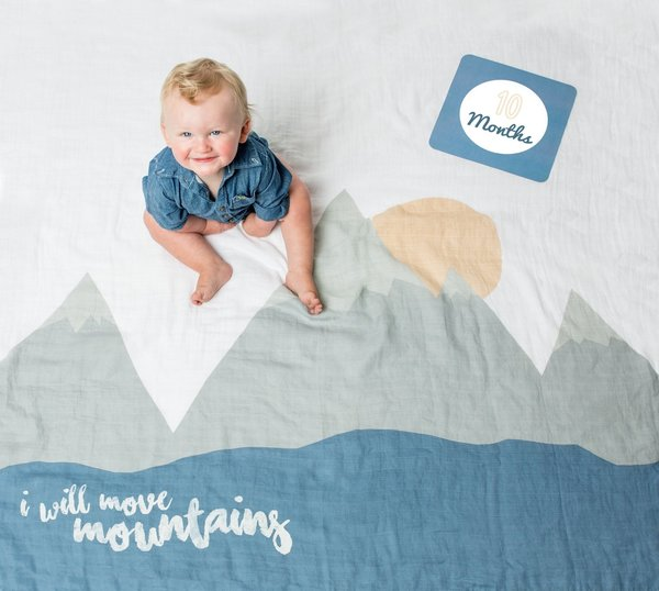 View larger image of Milestone Blanket - I Will Move Mountains