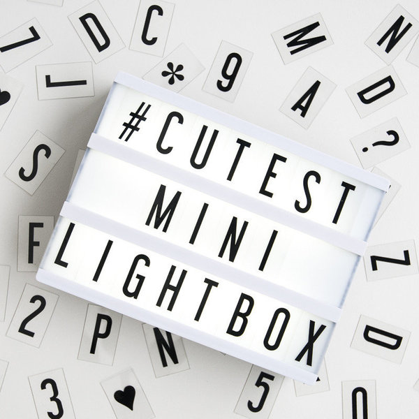 View larger image of Mini Cinema Lightbox
