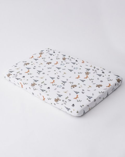 View larger image of Cotton Muslin Mini Crib Sheets