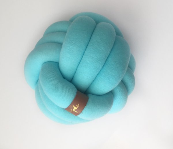 View larger image of Mini Knot Pillow Mint
