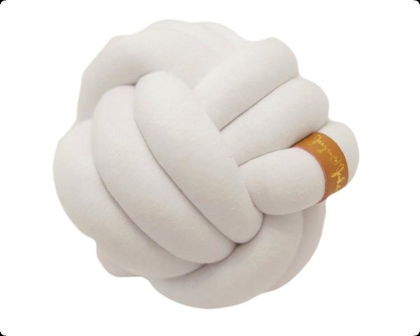 View larger image of Mini Knot Pillow White