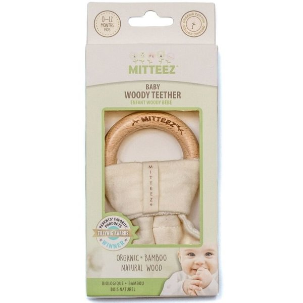 View larger image of Organic Baby Woody Teether