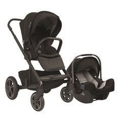 Mixx2 - Pipa Travel System Bundle - Caviar