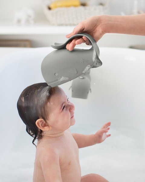 View larger image of Moby Grey - Waterfall Bath Rinser