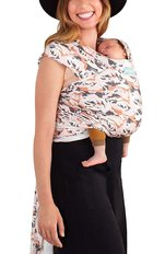 Moby Wrap Evolution Bamboo Wrap - Blooms