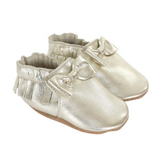 Moccasin Maggie 18-24M-Gold