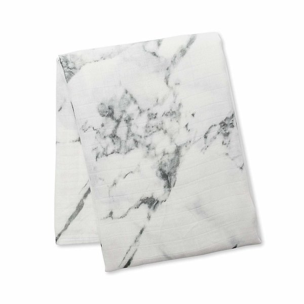 View larger image of Baby Muslin Swaddle - Marble