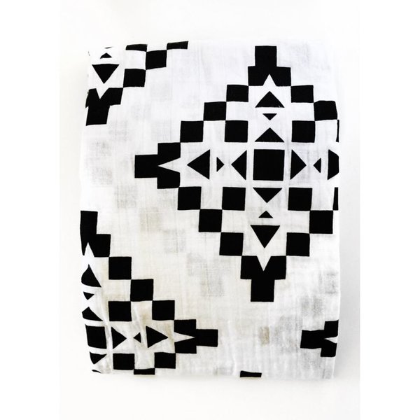 View larger image of Organic Cotton Muslin Swaddle Blanket