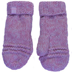 Mom Knit Mitt-Grey