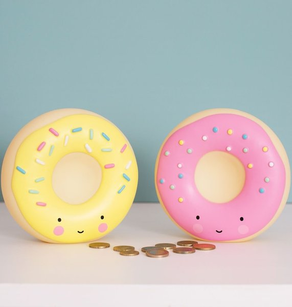 View larger image of Money Box - Pink Donut