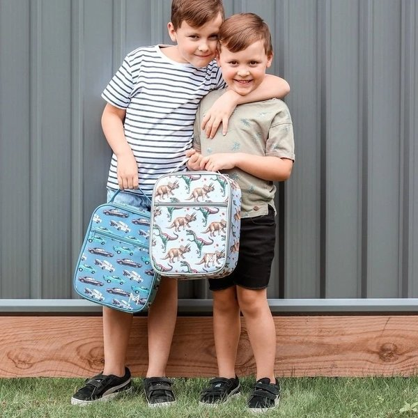 View larger image of Insulated Lunch Bag + Ice Pack Set