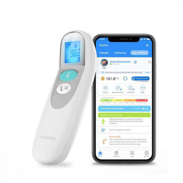 View larger image of Care+ Non-Contact Smart Forehead & Liquid Thermometer