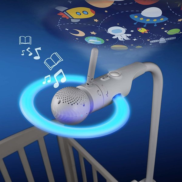 View larger image of Motorola Halo+ Over-The-Crib Baby Monitor