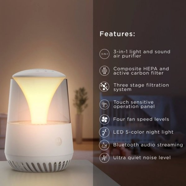 View larger image of Light & Sound Air Purifier
