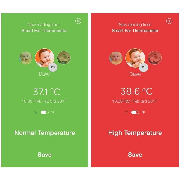 View larger image of MBP69SN Smart Ear Thermometer