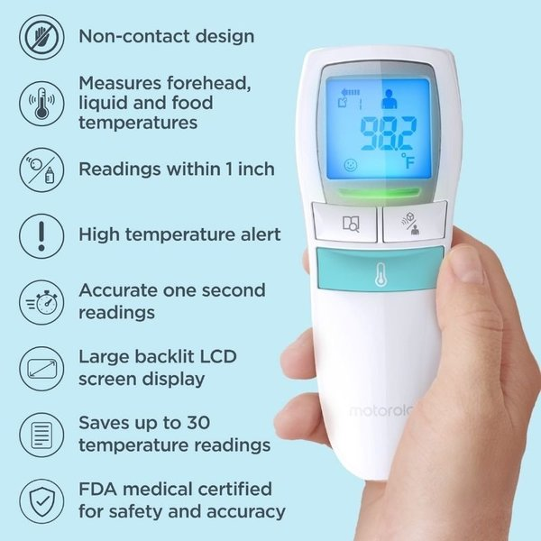 View larger image of Care 3-in-1 Non-Contact Baby Thermometer
