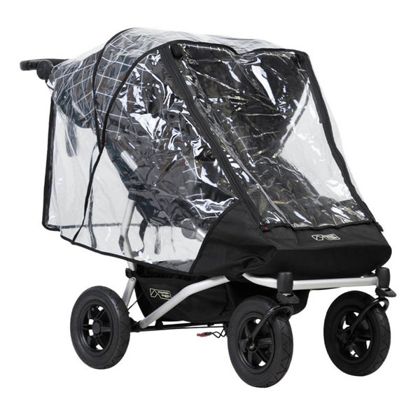 View larger image of Duet Double Storm Stroller Cover