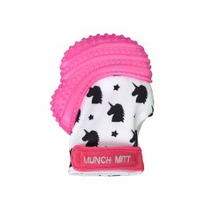 Munch Mitt - Pink Unicorn