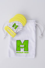 Munch Mitt - Yellow Polka