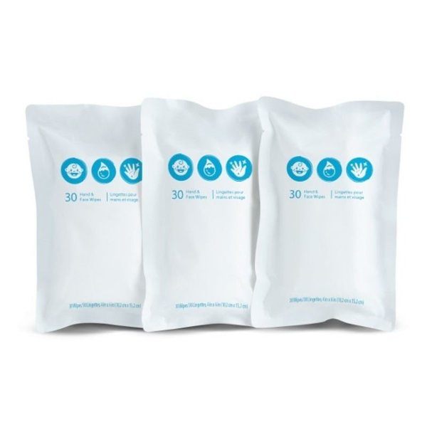 View larger image of BRICA Clean To Go Wipes -3pk