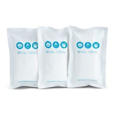 BRICA Clean To Go Wipes -3pk