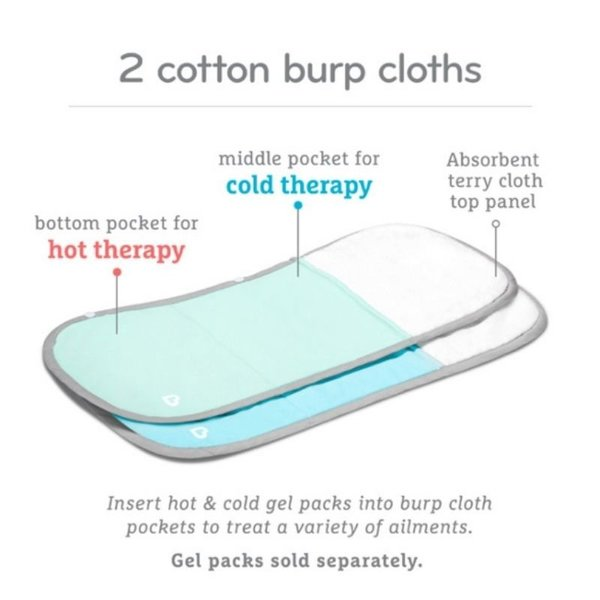 View larger image of Burp Cloths -2 Pack