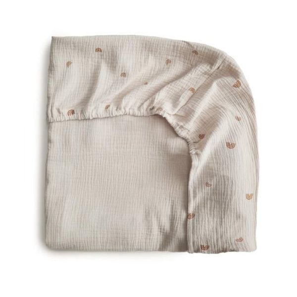 View larger image of Extra Soft Muslin Crib Sheet
