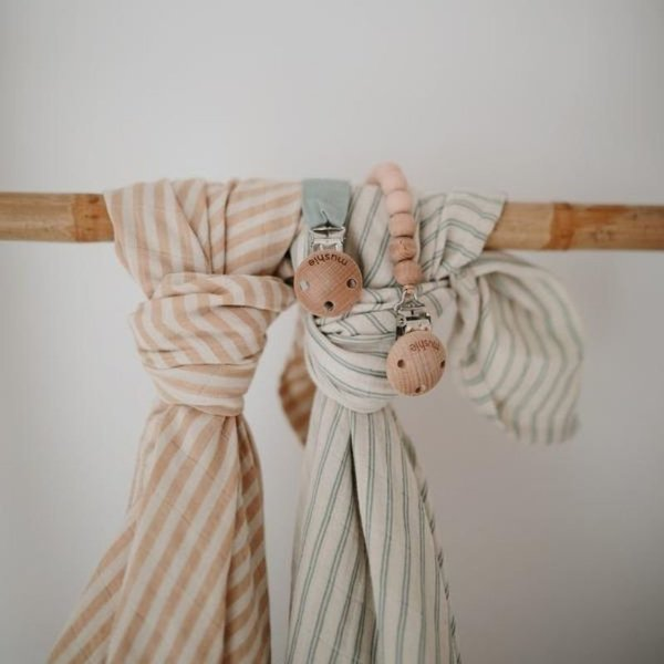 View larger image of Fabric Pacifier Clip