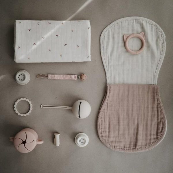 View larger image of Muslin Burp Cloth Set - 2 Pack