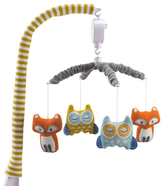 View larger image of Musical Mobile-Fox/Owl