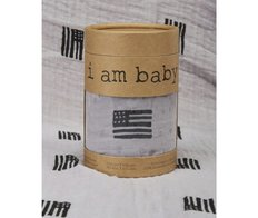 Muslin Swaddle - American Black/Grey