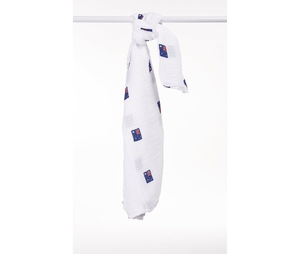 View larger image of Muslin Swaddle - Australian