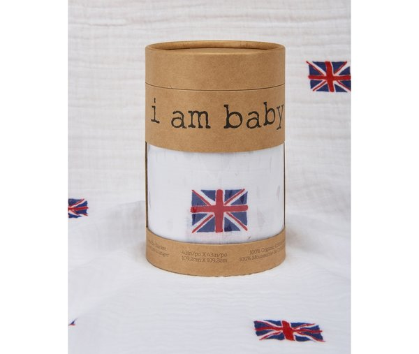 View larger image of Muslin Swaddle - British