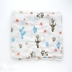 Luxe Muslin Swaddle - Cactus