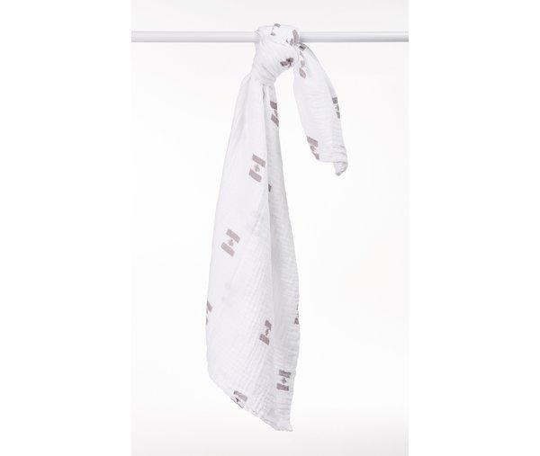 View larger image of Muslin Swaddle - Canadian - Grey