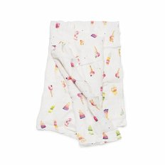 Luxe Muslin Swaddle - Ice Cream