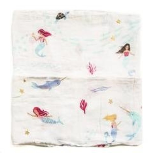 View larger image of Luxe Muslin Swaddle - Mermaid