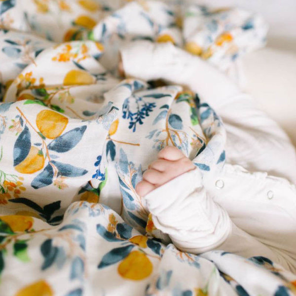 View larger image of Muslin Swaddle-Odessa