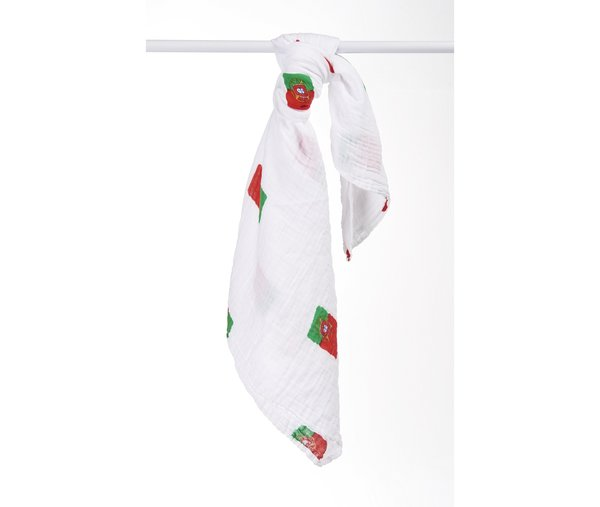 View larger image of Muslin Swaddle - Portugese