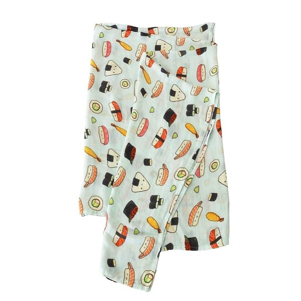 View larger image of Luxe Muslin Swaddle - Sushi