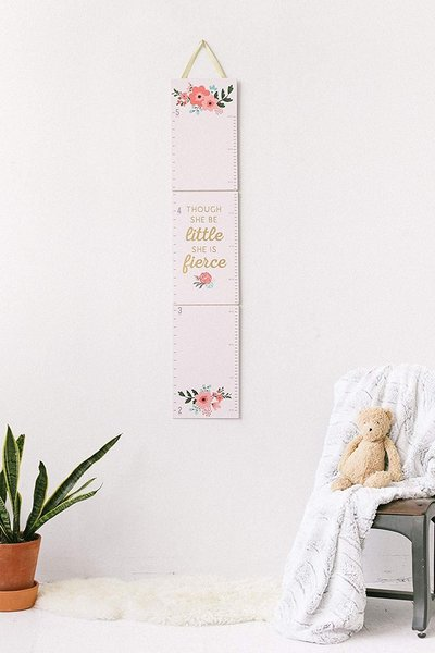 View larger image of My Growth Chart - Floral