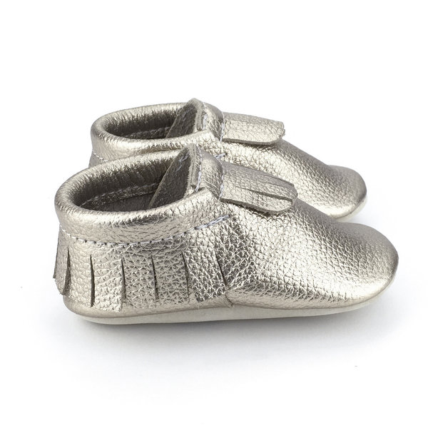 View larger image of Narwhal Platinum Moccasins