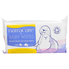 Organic Baby Wipes - 50 pack