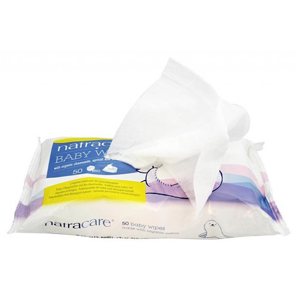 View larger image of Organic Baby Wipes - 50 pack