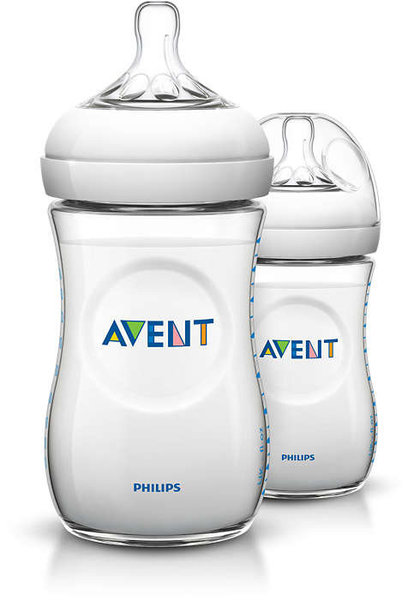 View larger image of Natural Bottle 9oz Twinpack