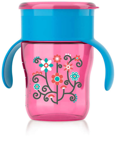 View larger image of Natural Drinking Cup-9oz-Girl
