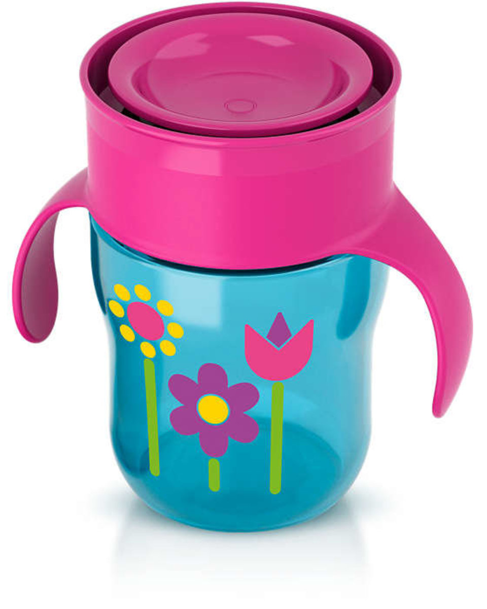 Avent Natural Drinking Cup-9oz-Girl | Snuggle Bugz