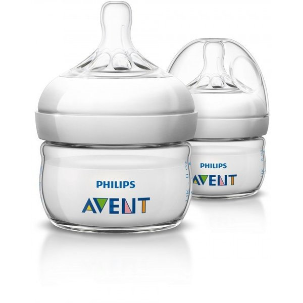 View larger image of Natural Newborn Bottle-2oz-2pk